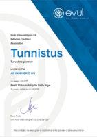 Eesti võlausaldajate liit tunnistus